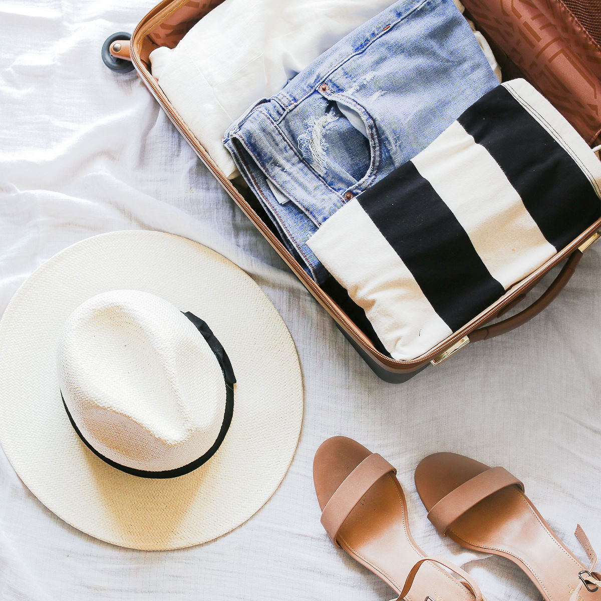advice for packing a suitcase