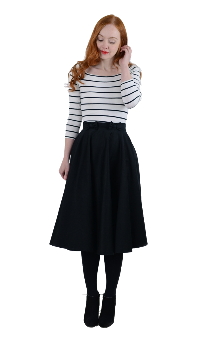 how to style a midi skirt with ankle boots
