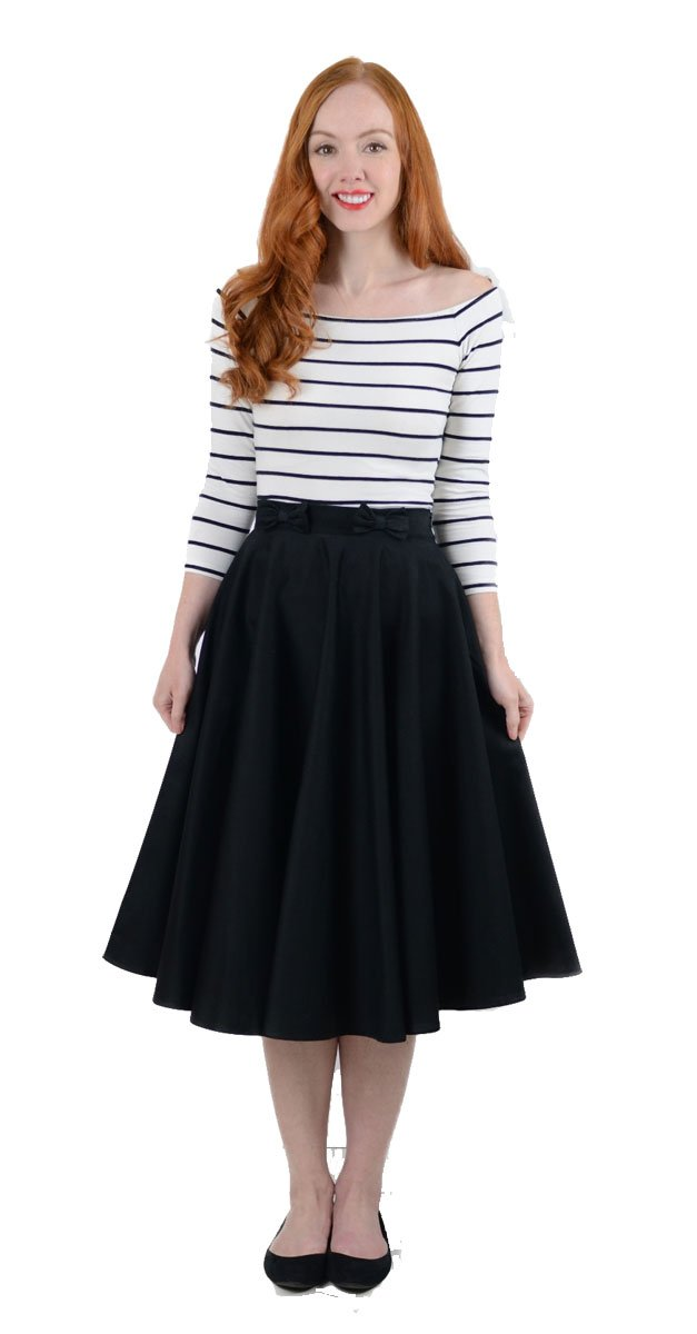 how to style a midi skirt with flats