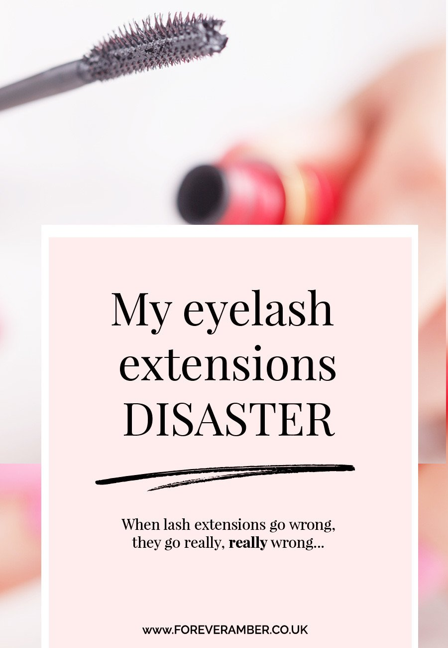 My eyelash extensions disaster: because when eyelash extensions go wrong, they go really, really wrong...