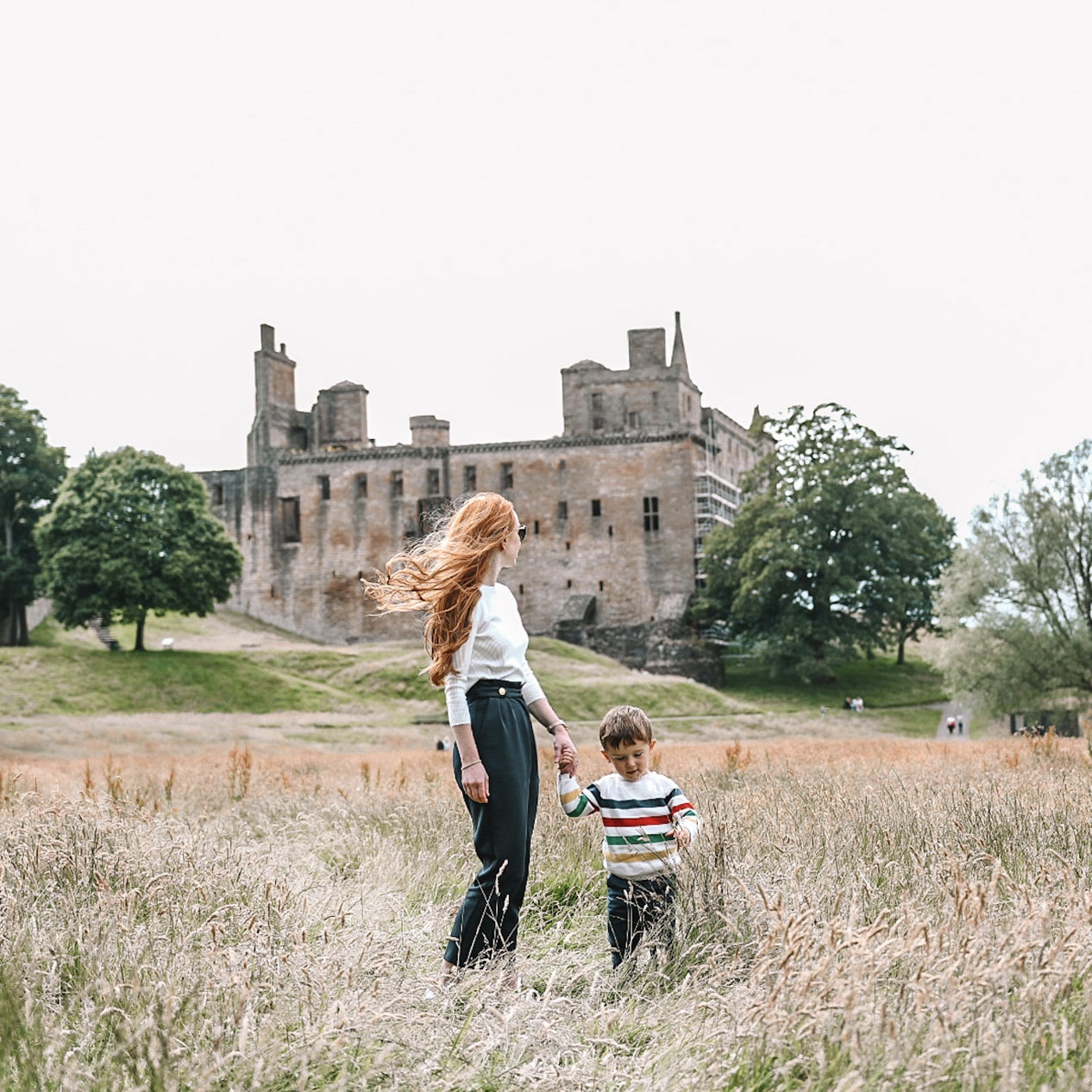 Amber and Max at Linlithgow Palace